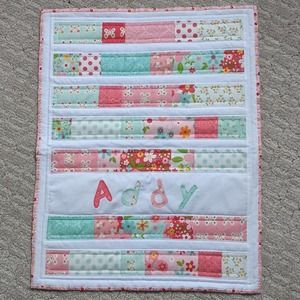 Handmade American Doll Quilt for Addy